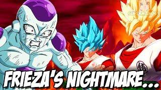 FRIEZA'S WORST NIGHTMARE... 3 GOKU'S IN ONE TEAM - Dragon Ball FighterZ: Goku Black & Frieza