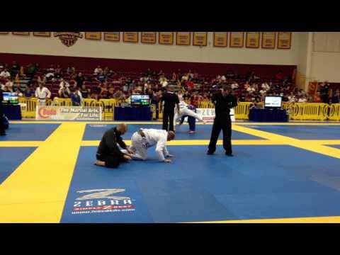 Mike Powers Jiu Jitsu  US Nationals 2013 1st fight vs Ricardo Wilke  Ribeiro Jiu Jitsu