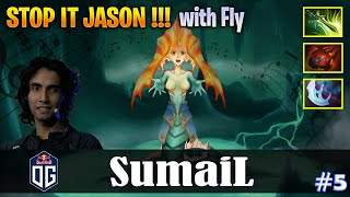 SumaiL - Naga Siren Offlane | STOP IT JASON !! | with Fly (TP) | Dota 2 Pro MMR Gameplay #5