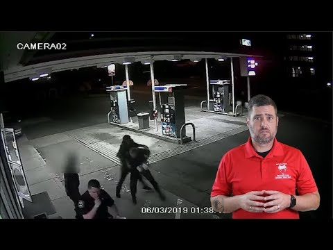 Officer Retains His Tool After Stranger Tries To Take It