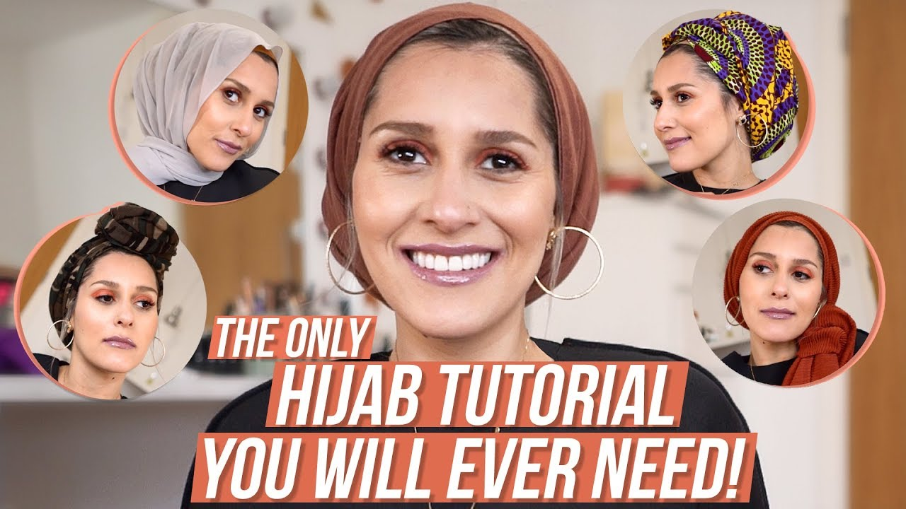 The Only Hijab Tutorial You Need Youtube Pashmina Kerudung Pk2 23