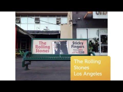 Bus Bench Advertising Los Angeles New York Nashville