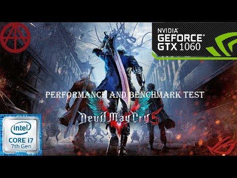 Devil May Cry 5-Performance-GTX1060 6GB- I7 7700HQ | ROG GL502VM