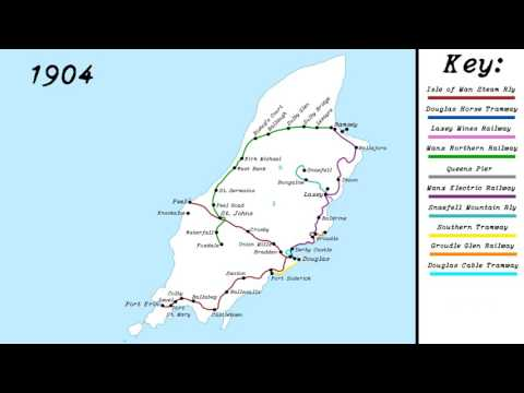 Isle of Man Rail History - 1872 to 2017