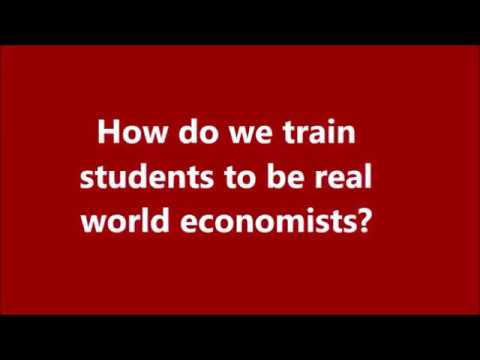FAQ: How do we train students to be real world economists?