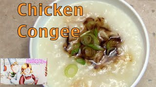 Chicken Congee a Rice Cooker Recipe cheekyricho video recipe episode 1,042