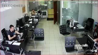Тестовая видеозапись с IP-камеры IPEYE-BM2-SUR-3.6-01