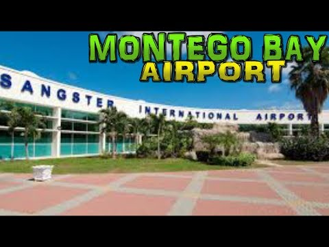 MONTEGO BAY AIRPORT - Sangster International - Jamaica 4K