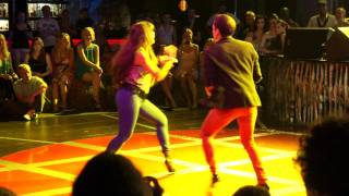 Griselle Ponce & Adolfo Indacochea salsa dancing @ Salsa Fest in St Petersburg