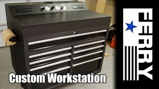 Ⓕ Custom Workstation / Tool Cart (ep4)