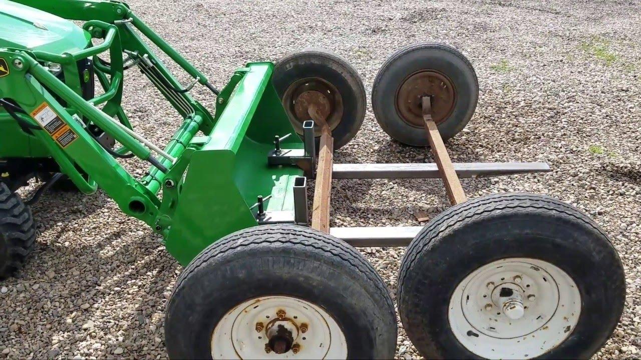 bucket forks for the John Deere 1025R