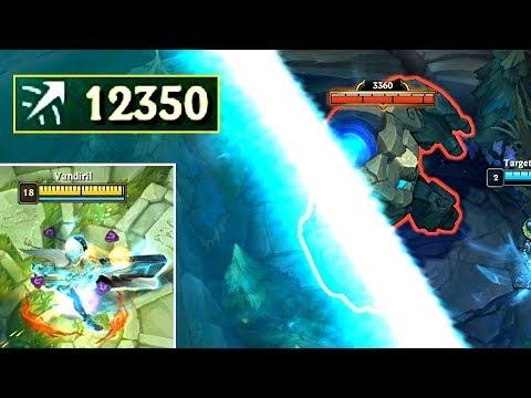 12000+ ATTACK RANGE SENNA! Killing Baron From BASE!