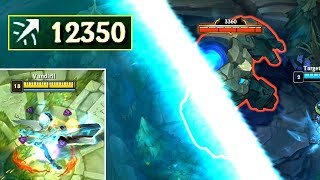 12000  ATTACK RANGE SENNA! Killing Baron from BASE!
