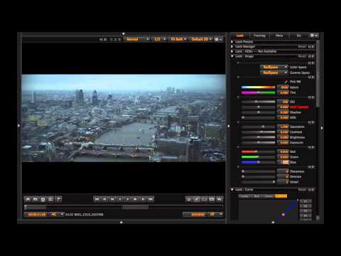 RED EPIC 4K Color Correction - London