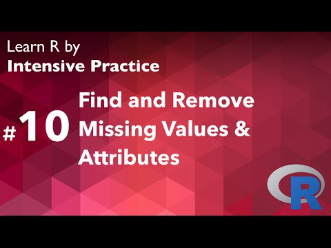 R Tutorial 10: How to handle missing values and attributes