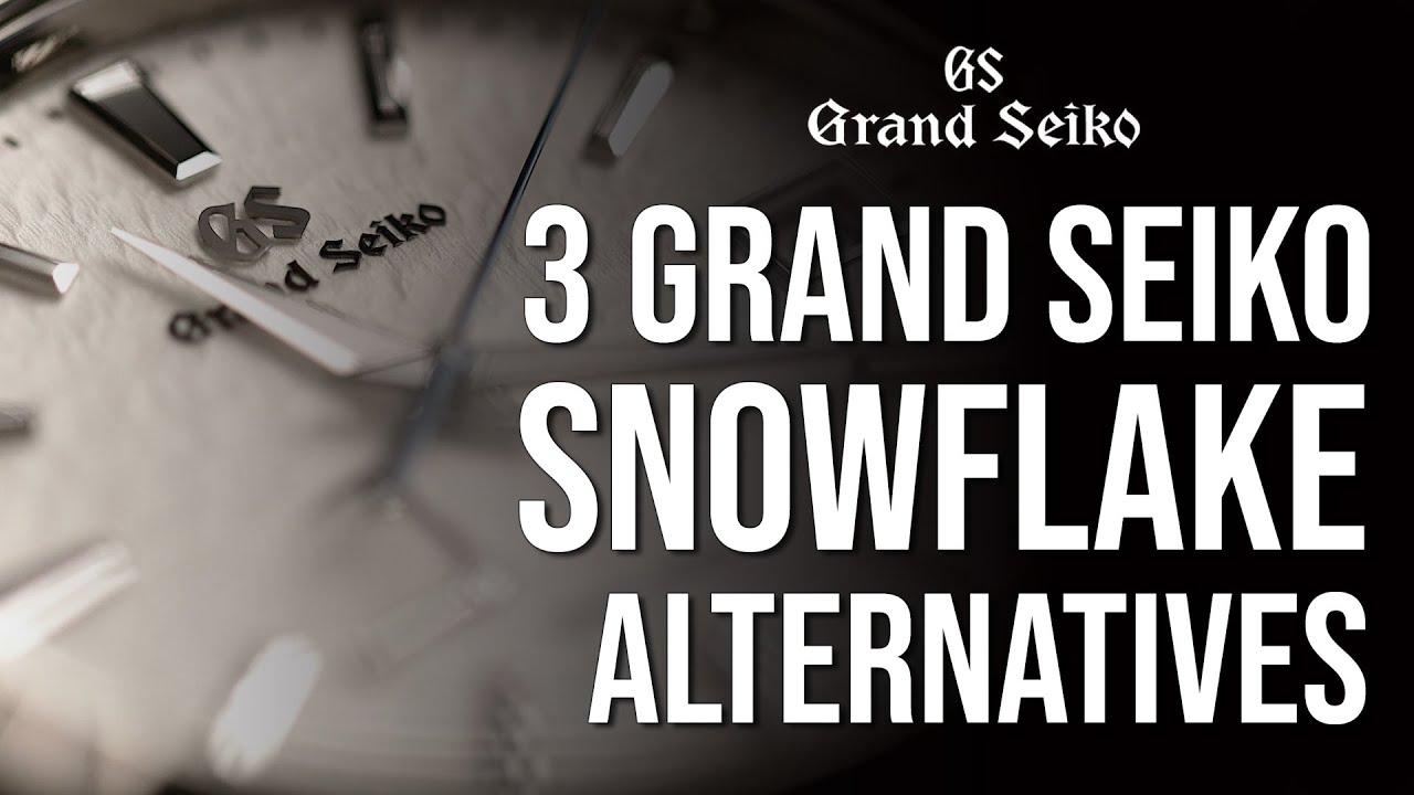 3 AMAZING Grand Seiko Snowflake Alternatives in 2020