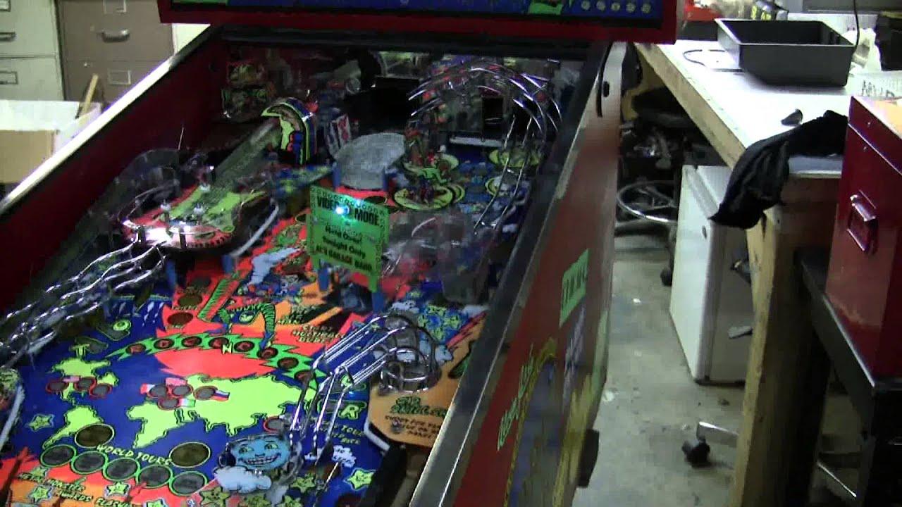 #376 Alvin G & Company WORLD TOUR Pinball Machine! Pretty Rare! TNT  Amusements