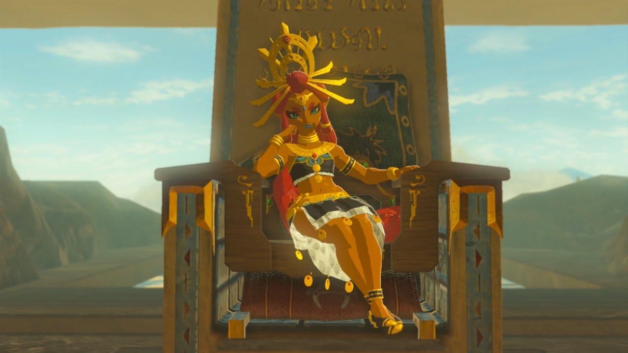 Gerudo Town Breath Of The Wild >> Gerudo Town & Yiga Hideout - Legend of Zelda: Breath of the Wild - Playthrough - YouTube