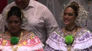 """""""Coro Musica Viva"""" aus Panama mit dem Lied """"Blessed be God"""" beim 10.Internationalen Chorwettbewerb 2014 in Elsenfeld, Landkreis Miltenberg  Leitung: Jorge Ledezma-Bradley"""