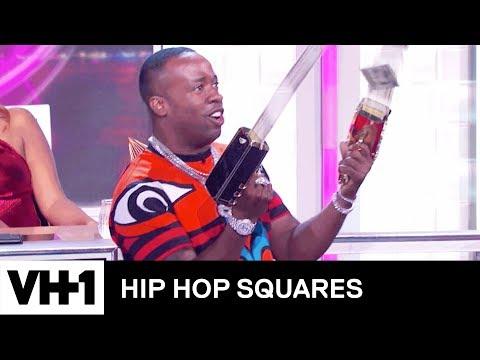 Yo Gotti's Rake It Up Challenge 'Sneak Peek' 🤑 | Hip Hop Squares
