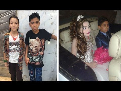 Egypt Child Marriage; 12 y.o Boy Will Marry 11 y.o Cousin But Father says 'It's Only Engagement'