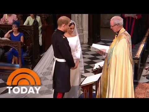Royal Wedding: Prince Harry, Meghan Markle Exchange Vows | T
