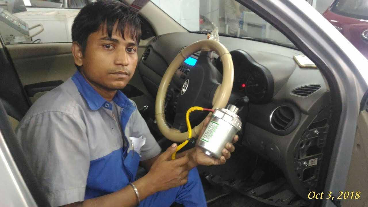 Hyundai I10 Steering Hard Eps Light Glowing Electronic Motor Replace