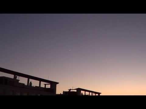 Ataque Quimico Aereo Oceano Atlantico,,avion en vuelo,LUNA,VENUS 11 junio 2013 Cadiz by emin