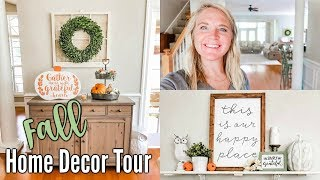 AMAZING FALL HOME TOUR 2019 | DECORATED WITH LOVE MEG