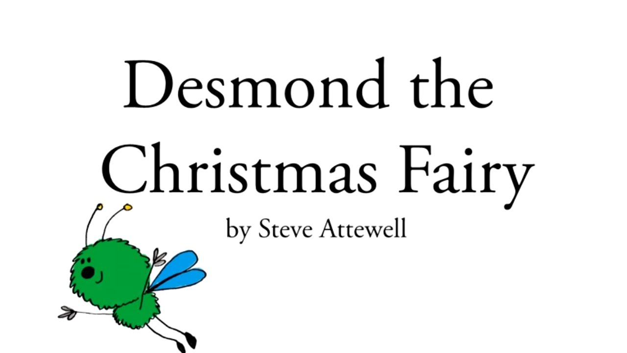 funny poems for kids desmond the christmas fairy youtube