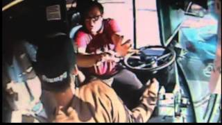 Bus driver attacked!