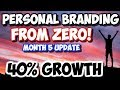 Building Your Personal Brand From Scratch | 5 Month Update Case Study | Paul K Wright
