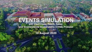 BNDCC EVENTS SIMULATION WITH CHSE PROTOCOL