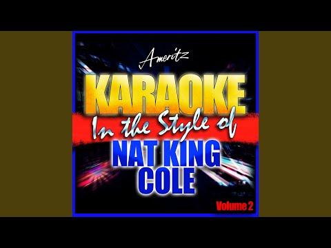 Too Young (In The Style Of Nat King Cole) (Karaoke Version)