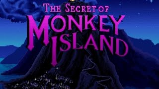 The Secret of Monkey Island gameplay (PC Game, 1990)