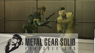 MGS Portable Ops - Gene - Boss fight (2006) (720p)