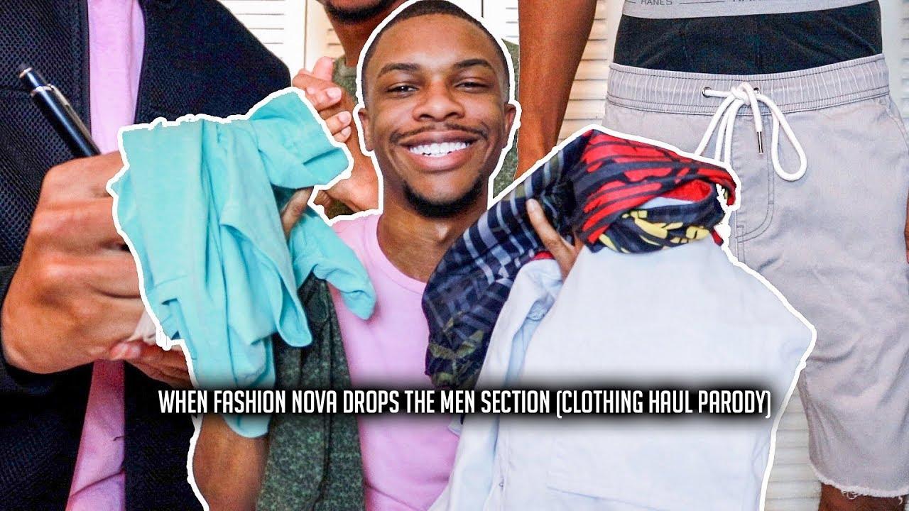 5c9197c41f6b4 When Fashion Nova Drops Their Men Section (Clothing Haul PARODY) -  @AyeTeeYNFR