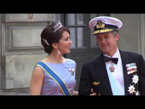 Dansk Kongehus Til Carl Philip Og Sofias Bryllup