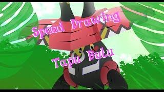 Speed Drawing - Tapu Bulu