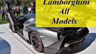 Lamborghini All 20 Cars Models