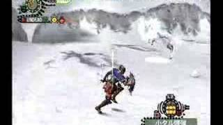 Monster Hunter 2 bomber test