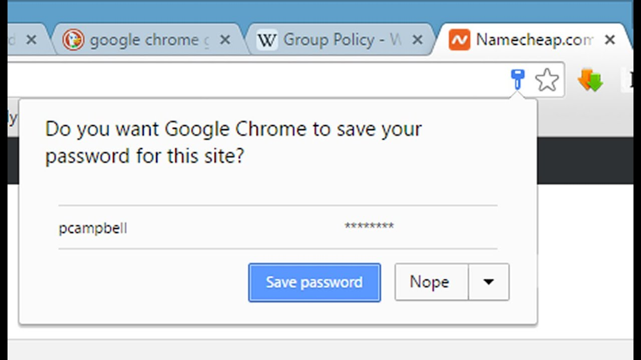 How to automatically save passwords in google chrome (no prompt) - Tutorial