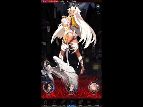 Juego mobile para ma yo res de 17 años  PRIMEROS MINUTOS ( IDLE ANGELS ) Gameplay RPG 2019