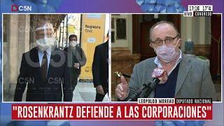 """Leopoldo Moreau: """"La oposición quiere judicializar todo"""""""