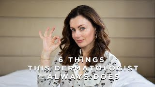 6 Skincare Rules This Dermatologist ALWAYS Follows + Skin Smoothie recipe
