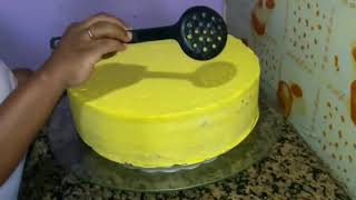 Como decorar o bolo com chantilly tema patati patata