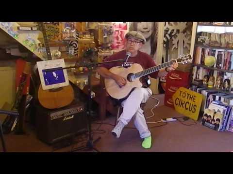 Edith Piaf - La Vie En Rose - Acoustic Cover - Danny McEvoy - chords at end!
