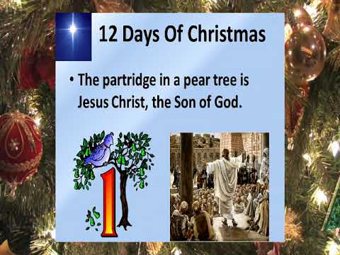 12 DAYS OF CHRISTMAS SONG - ITS MEANING - YouTube