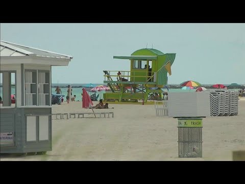 Miami's beaches back in business after COVID-19 shutdown