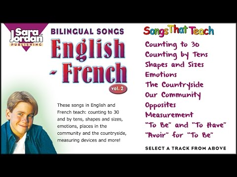 Bilingual Songs | English French | Vol 2